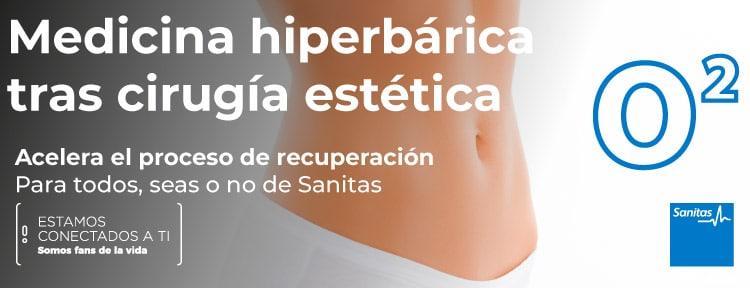 Medicina hiperbárica tras cirugía estética